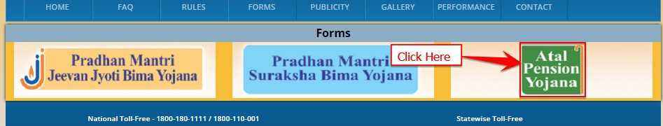 APY Online Application Form