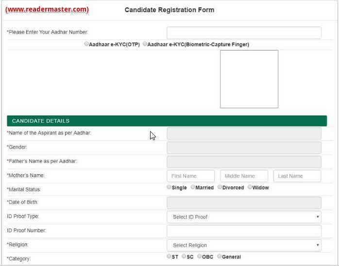 MMKSY-Candidates-Registration-Form