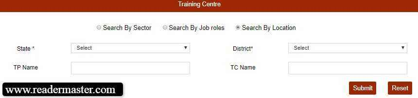Check-PMKVY-Training-Centers-List-Area-Wise