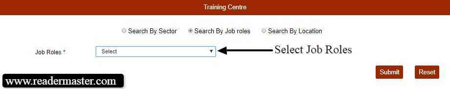 Find-PMKVY-Training-Centre-By-Job-Wise